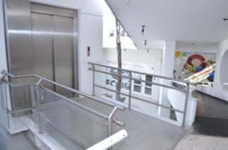 Instalan elevador en el CRIS Aguascalientes para facilitar acceso a pacientes