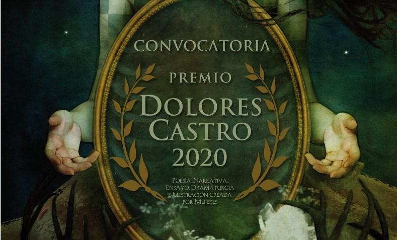 Amplían convocatoria al premio Dolores Castro 2020