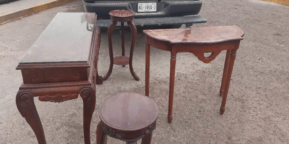 Roban muebles de mausoleo en panteón de Rincón de Romos