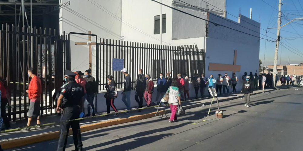 Cáritas realiza entrega de despensas en Aguascalientes