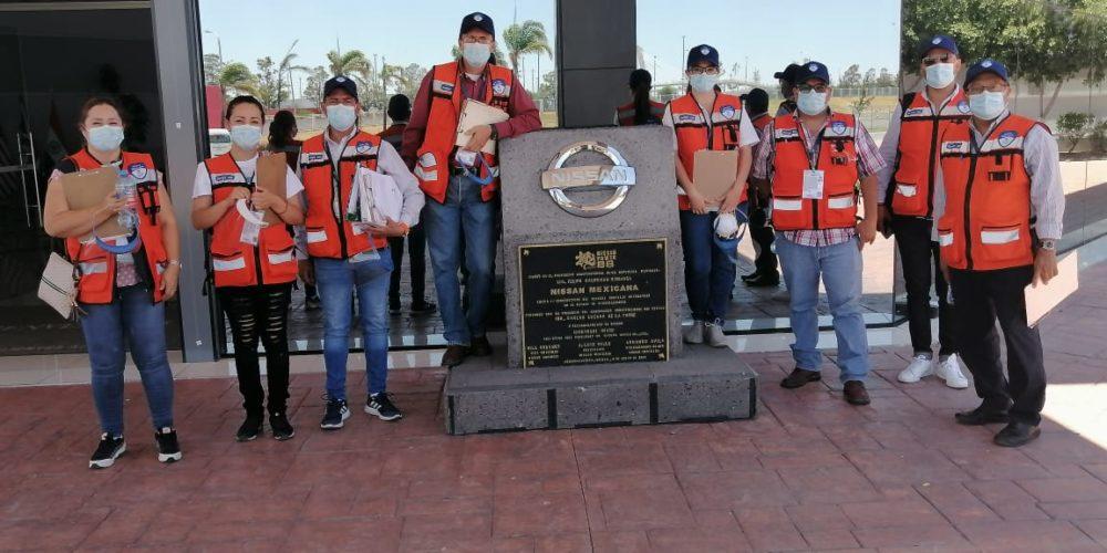 Garantiza Guardia Sanitaria que reapertura de empresas en Aguascalientes sea bajo protocolos de salud
