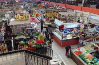 Fortalecen filtros sanitarios en tianguis y mercados de Aguascalientes