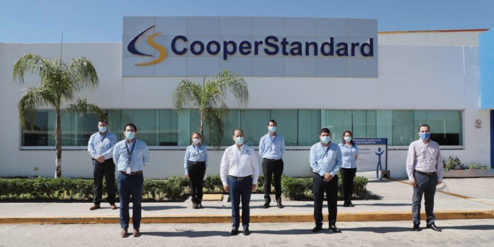 Supervisa MOS protocolos sanitarios en Cooper Standard