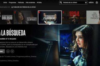 Netflix realizará serie sobre el caso Paulette