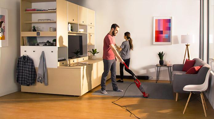 Ori, el mobiliario robótico que aprovecha todos los espacios de la casa