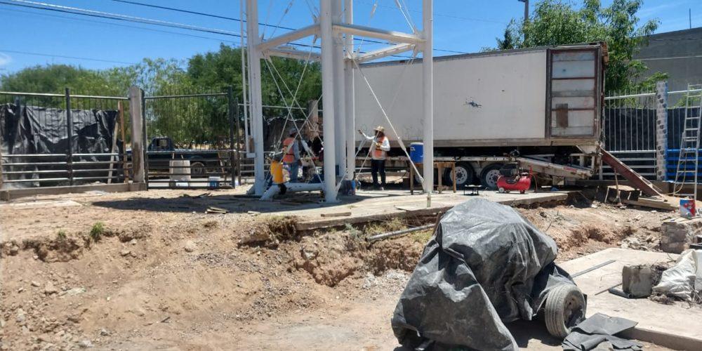 CCAPAMA equipa nuevo pozo en el fraccionamiento Municipio Libre