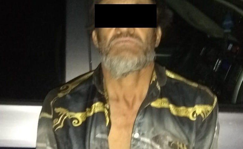 Detienen a sujeto con droga en Cosío