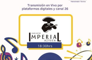 Mariachi Imperial Azteca participará en el Despensatón 2020
