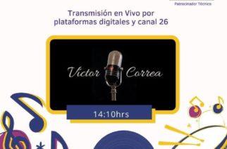 Víctor Correa en el Despensatón 2020