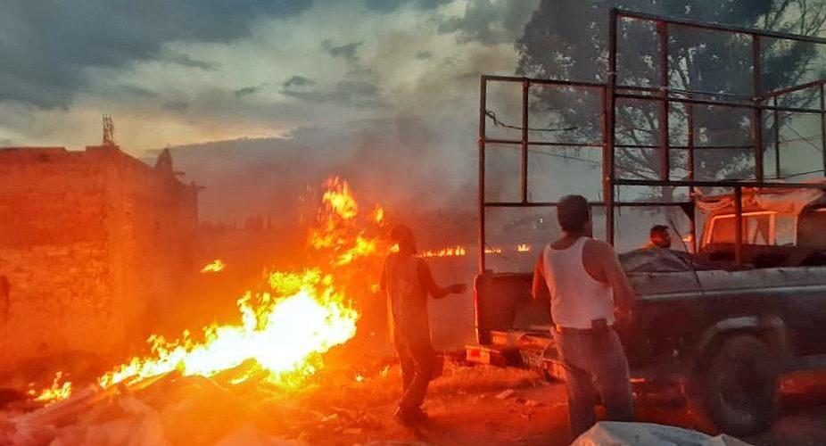 Advierten bomberos de JM de incendios por descuidos