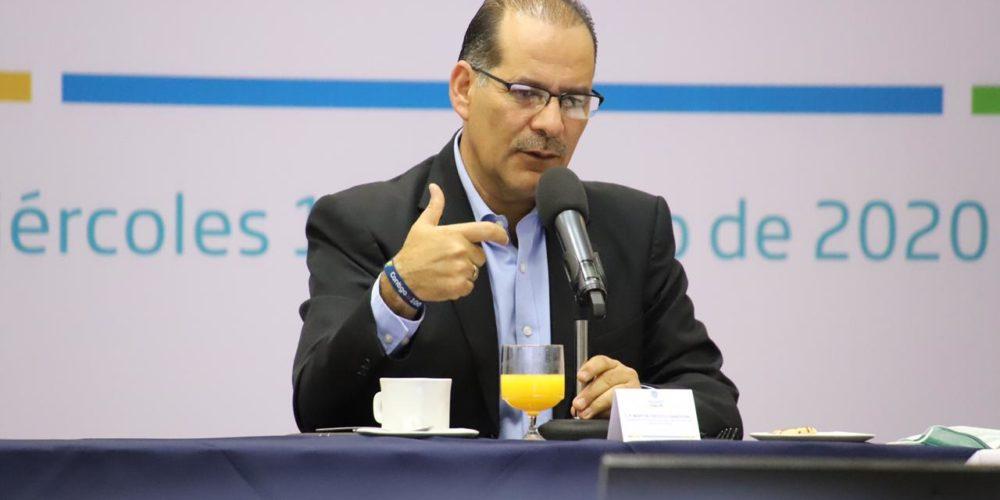 Orozco se reúne con empresarios  para checar estrategia sanitaria durante reapertura