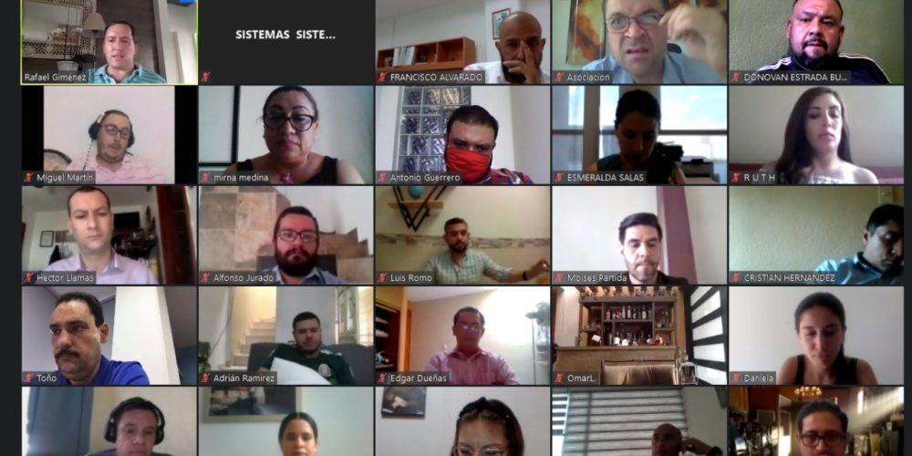 Realiza PAN seminario virtual en Alta Gerencia Electoral