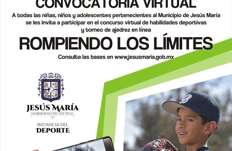 Jesús María realizará torneo deportivo virtual