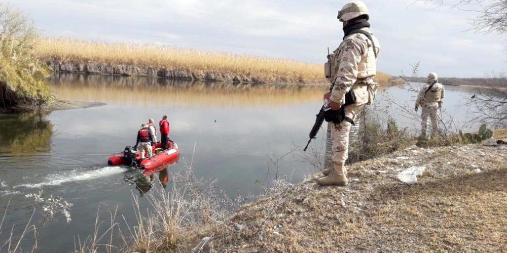 ¡Tragedia! Joven aguascalentense y pollero mueren al intentar cruzar el Río Bravo