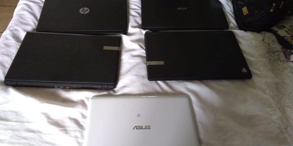 FGE recupera computadoras robadas tras cateo en Asientos