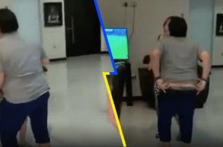 (Video)Maradona se baja los pantalones mientras baila con su esposa