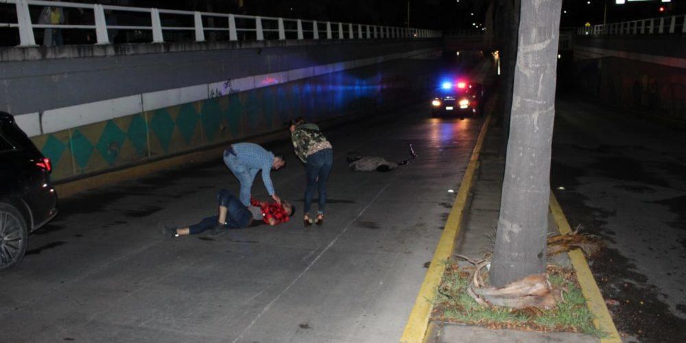 Identifican al motociclista que murió en López Mateos