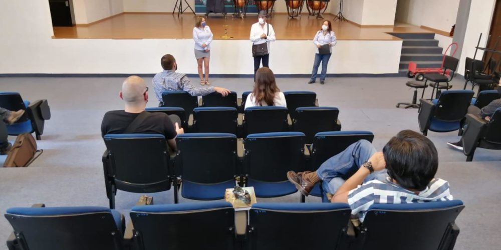 Integrantes de la Orquesta y Coro de JM retoman actividades de manera virtual