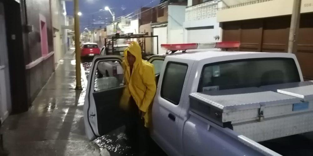 Fuertes lluvias dejan inundaciones en Aguascalientes
