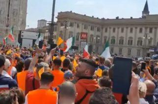 Surge los 'Chalecos Naranjas', movimiento que asegura que el Coronavirus no existe
