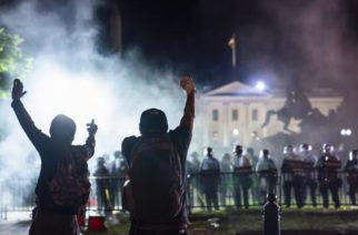 Trump fue protegido en búnker de Casa Blanca por disturbios