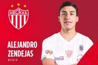 Necaxa ficha a Alejandro Zendejas
