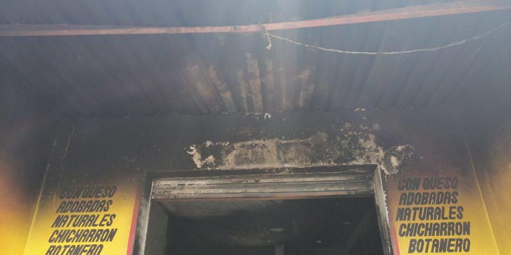 Se registra incendio en fábrica de papas