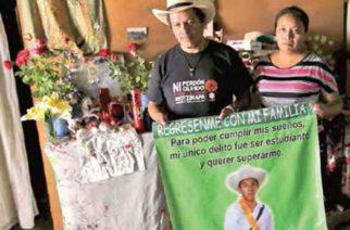 Identifican a otro normalista; Christian fue desaparecido en Iguala