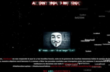 """Anonymous hackea a la Condusef y envía mensaje a AMLO: """"estamos hasta la madre"""""""