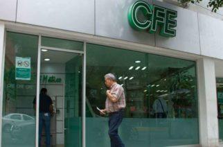 CFE anuncia apoyos para usuarios por pandemia