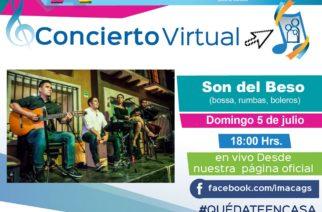 No te pierdas el concierto virtual de Son del Beso
