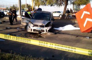 Automovilista arrolla a motociclista y la mata frente al Cóbano
