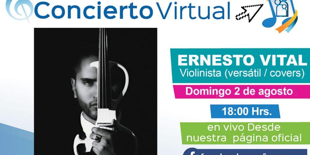 Ernesto Vital en concierto virtual
