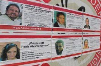 Aguascalientes rezagado en información de personas desaparecidas: Segob