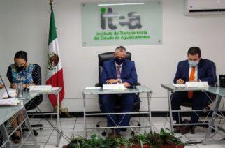 Reconoce ITEA a sujetos obligados por resultados en transparencia