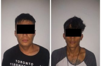 Detienen por robo a dos sujetos en Aguascalientes