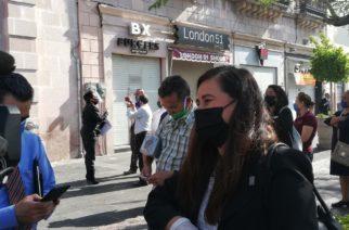 Afirma Ramírez que la mayoría de taxistas de Aguascalientes no usan cubrebocas