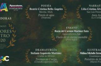 IMAC anuncia ganadoras del Premio Dolores Castro 2020