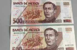 Algunos billetes de 500 pesos podrían tener un valor hasta de 2,000