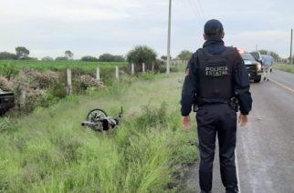 Fallece motociclista tras choque frontal rumbo a Calvillito