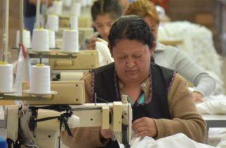 Industria del vestido en Aguascalientes al 20%