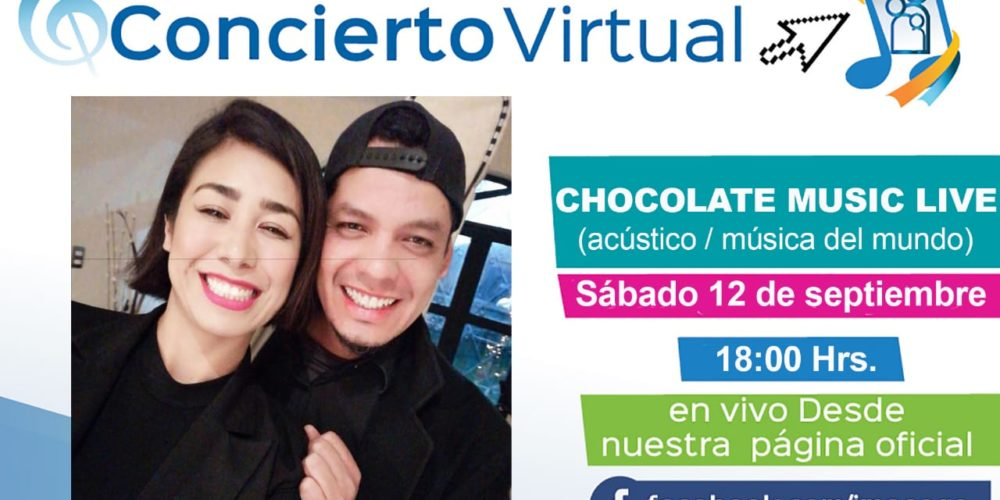 Chocolate Music Live en concierto virtual