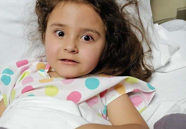 Piden apoyo para Karol, menor a la que le detectaron un tumor en la cabeza