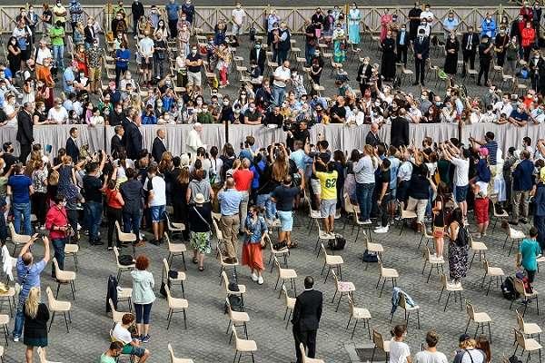 Reactiva el Papa Francisco sus audiencias públicas