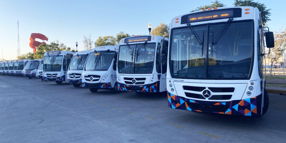 Rutas 11 y 28 extenderán su recorrido hasta el Parque Industrial Chichimeco