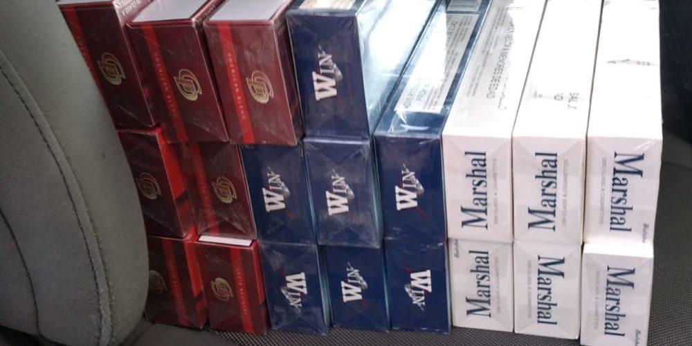 Aseguran 4 mil cigarros chinos en Aguascalientes