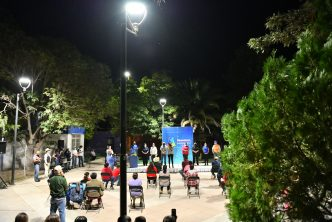 Colocan alumbrado led en Jaltomate, Aguascalientes