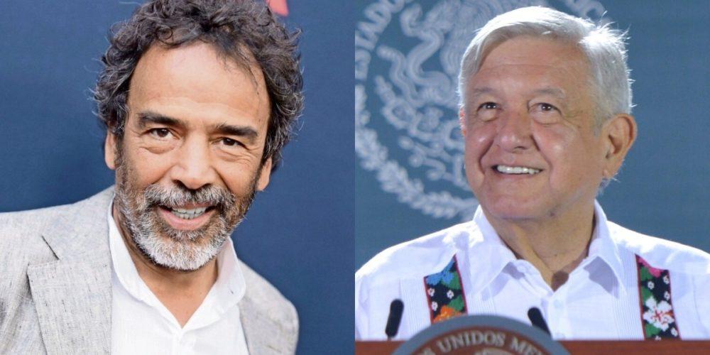 Damián Alcazar y Luis Estrada alistan película sobre la 4T
