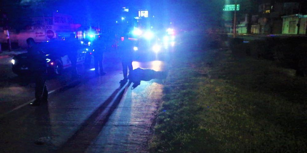 Vehículo fantasma atropelló a un hombre frente a la Nueva España y agoniza