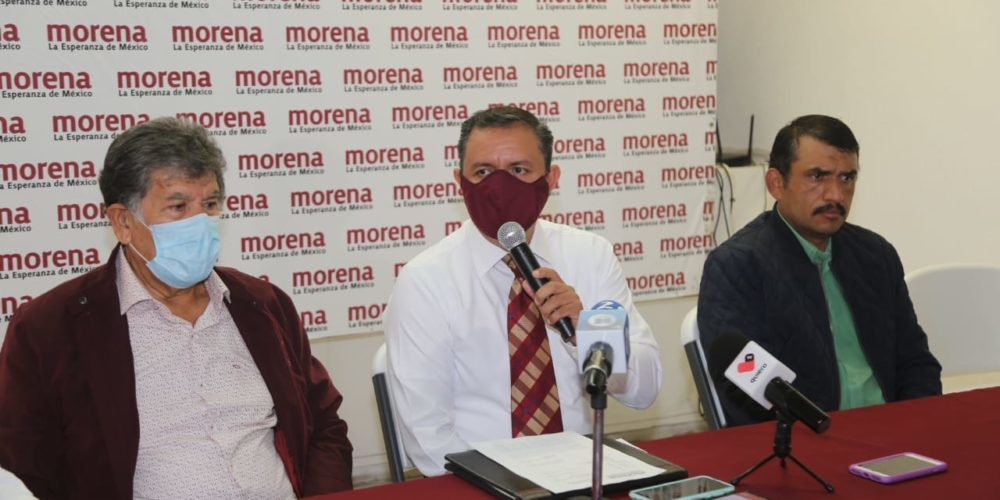 Estudia Morena alianza local con PT y PVEM
